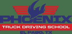Logo for Phoenix Truck Driving School in El Paso, TX