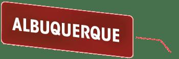 A red button that says 'Albuquerque'