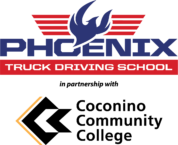 The logo for our CDL training program in Flagstaff
